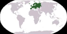 אירופה על מפת העולם