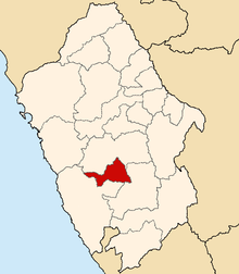 Location of the province Aija in Ancash.PNG