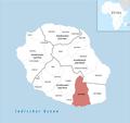 Locator map of Saint-Joseph 2018.png
