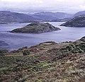 Loch a' Chairn Bhain from Ruighean Thomais - geograph.org.uk - 620856.jpg
