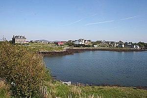 Lochmaddy - Image: Loch nam Madadh geograph.org.uk 1343318
