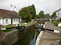 Lock at Cow Roast, Grand Union Canal - geograph.org.uk - 649057.jpg