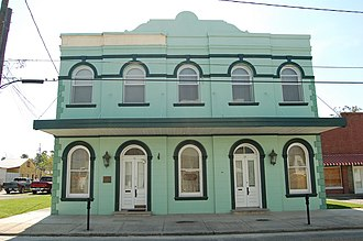 National Register of Historic Places listings in Lafourche Parish, Louisiana - Image: Lockportbank WM