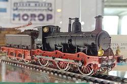 Locomotiva FS 3802 modello H0.JPG