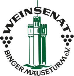 Logo des Weinsenat Binger Mäuseturm e.V.