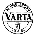 Logo of Sanocka Fabryka Akumulatorów (SFA) Varta.jpg