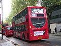 London United ADH35 on Route 27, Turnham Green Church (14059594297).jpg