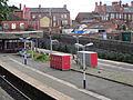 Looking towards Wigan Wallgate railway station from King Street West (4).JPG