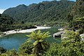 Looking up the Lower Buller River - panoramio.jpg
