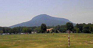 A view of the apex of Lookout Mountain