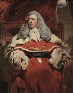 Edward Law, 1st Baron Ellenborough Lord Chief Justice of England