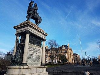 Kelvingrove Park - Lord Frederick Sleigh Roberts Monument at Kelvingrove Park