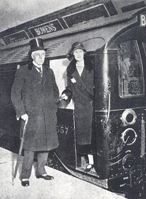 Albert Stanley, 1st Baron Ashfield - Image: Lord Stanley and daughter