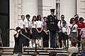 Loudon Day School lays a wreath at the Tomb of the Unknown Soldier in Arlington National Cemetery (25902821004).jpg