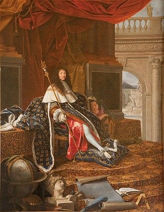 Marguerite Louise d'Orléans - Image: Louis XIV (by Henri Testelin)