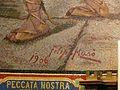 Lourdes église Rosaire mosaïques Chemin de croix signature.JPG