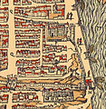 Louvre and Tuileries Palace on a 1575 map of Paris - numericable-fr-parisbal.jpg
