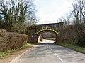 Low rail bridge - geograph.org.uk - 724516.jpg