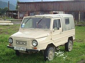 295px Luaz in Verkhovyna - Ходовая часть автомобиля луаз