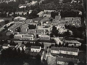 Studentendorf Schlachtensee - Aerial picture Studentendorf Schlachtensee, 1963