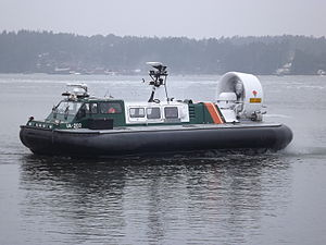 Finnish Border Guard - Hover craft IA-202.