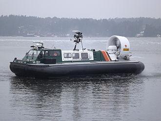 Finnish Border Guard - Hover craft IA-202.