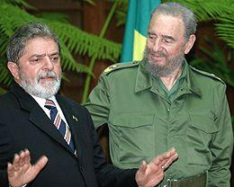 Encontro com Fidel Castro no Palácio da Revolução