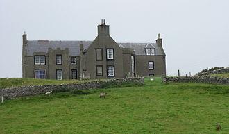 Shetland bus - Lunna House on Shetland where operations were coordinated.