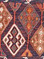 Luristan Soumak saddle bag detail of motif.JPG