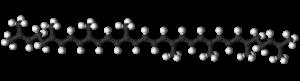 Lycopene - Image: Lycopene 3D balls (rotated)