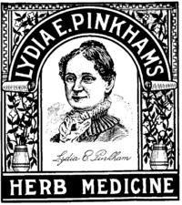 Lydia Pinkham's Herb Medicine