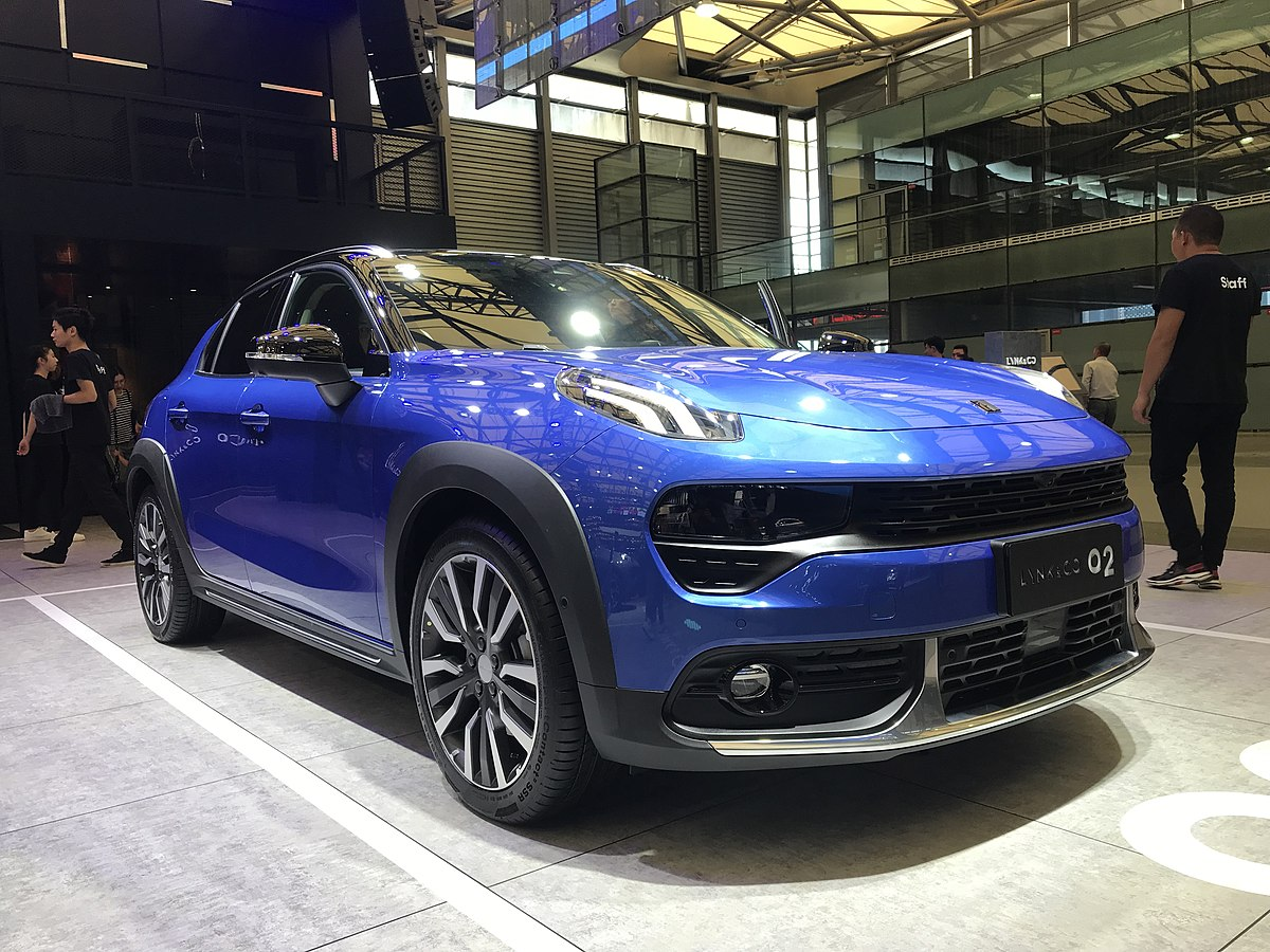 What Is A Crossover Suv >> Lynk & Co 02 – Wikipedia
