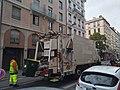 Lyon 7e - Camion de collecte des déchets rue de Marseille 1 (mai 2019).jpg
