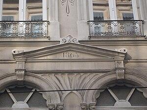 Rue du Bât-d'Argent - Image: Lyon Bât d'argent 1