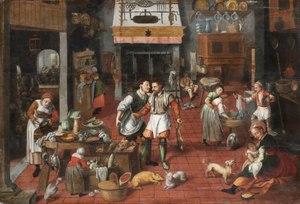 Kitchen Interior Cirka 1565