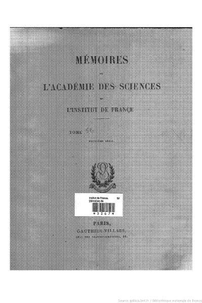 File:Mémoires de l'Académie des sciences, Tome 52.djvu