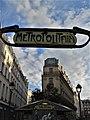 Métro 4 Septembre, Paris 11 March 2018.jpg