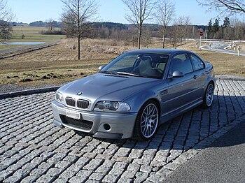 English: BMW M3 CSL E46