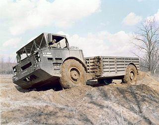 M520 Goer US Army heavy tactical truck, in service 1972-1982