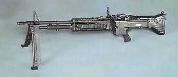 60 mm machine gun
