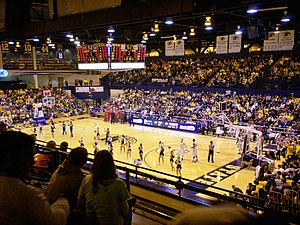Memorial Athletic and Convocation Center - Interior view in 2010