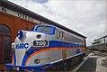 MARC Locomotive No. 7100 -- B & O Railroad Museum Baltimore (MD) July 2013 (9328373499).jpg