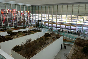 Museum of Human Evolution - Inside view of the museum.