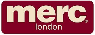 Merc Clothing - Image: MERC LONDON LOGO WITH BORDER