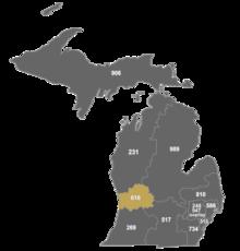 Area Code Wikipedia - 616 area code usa