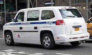 Vehicle Production Group - VPG MV-1, NYC's paratransit system