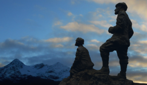 John MacKenzie (mountain guide) - Digitally created impression of how the commemorative statue will appear