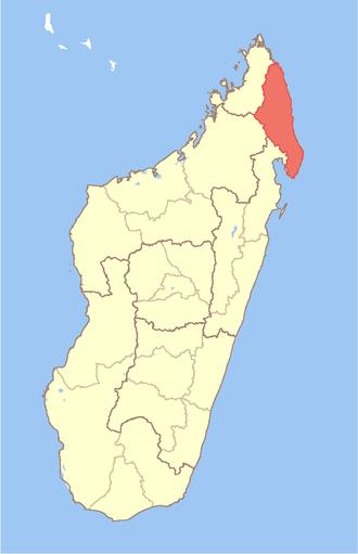 Sava Region - Image: Madagascar Sava Region