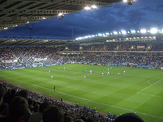 England national football B team - Match at the Madejski Stadium against Belarus in 2006