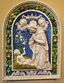 Madonna on a Grassy Patch, after Luca della Robbia, papier-mache (cartapesta) - Bode-Museum- DSC02414.JPG
